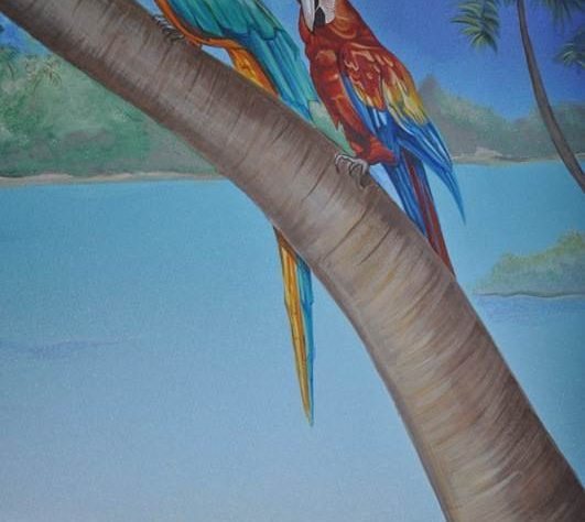 1402421620camera-bucuresti-pictura-murala-peisaj-exotic