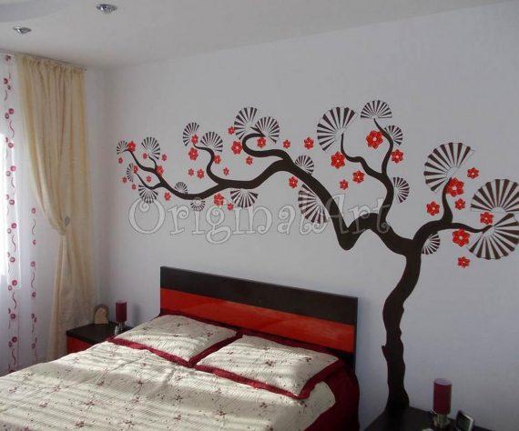 1402422791dormitor-bacau-pictura-murala-copac-decorativ