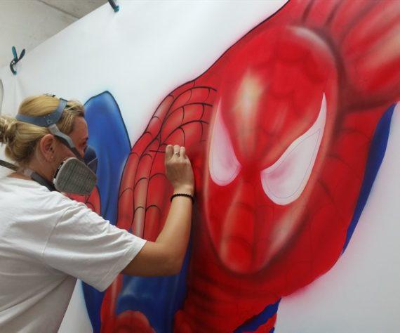 desen-pictat-spider-man1