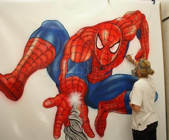desen-pictat-spider-man2