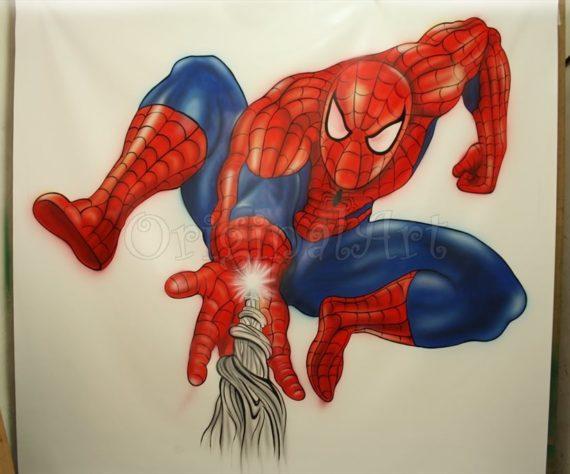 desen-pictat-spider-man4