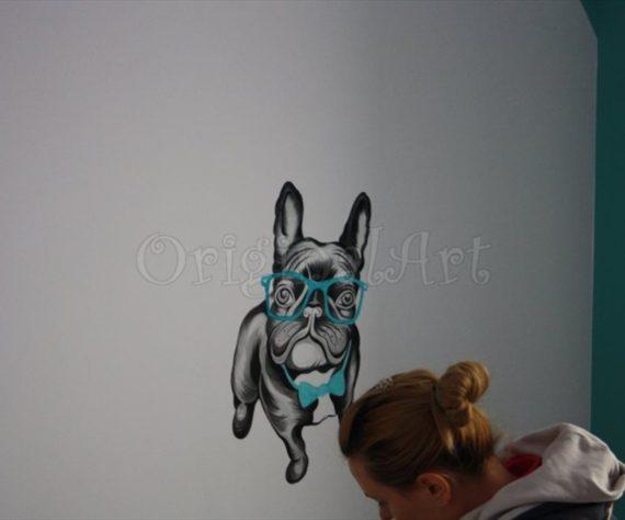 pictura decorativa caine1