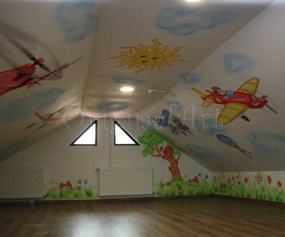 pictura spatii de joaca cu avioane2