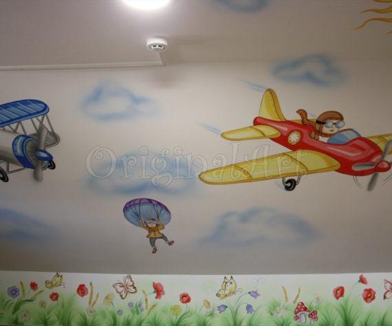 pictura spatii de joaca cu avioane4665