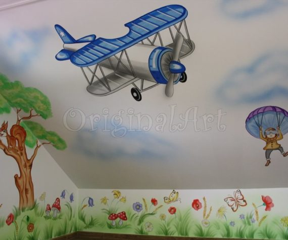 pictura spatii de joaca cu avioane5