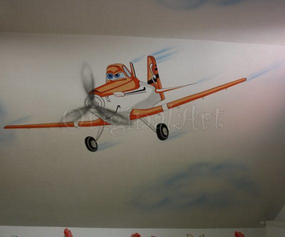pictura spatii de joaca cu avioane67867