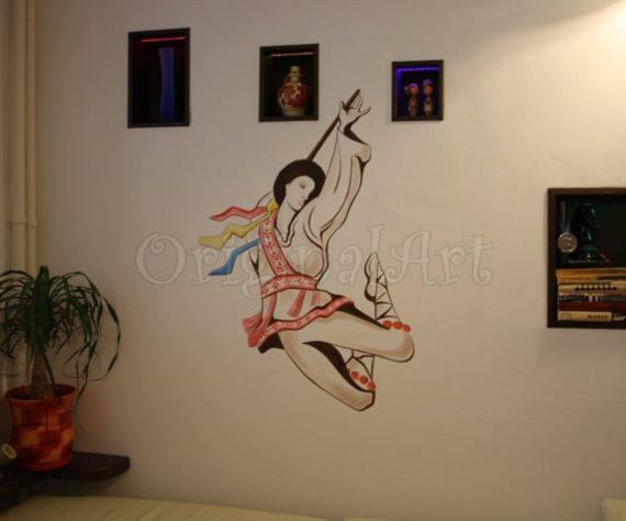 pictura traditional populara calusar1