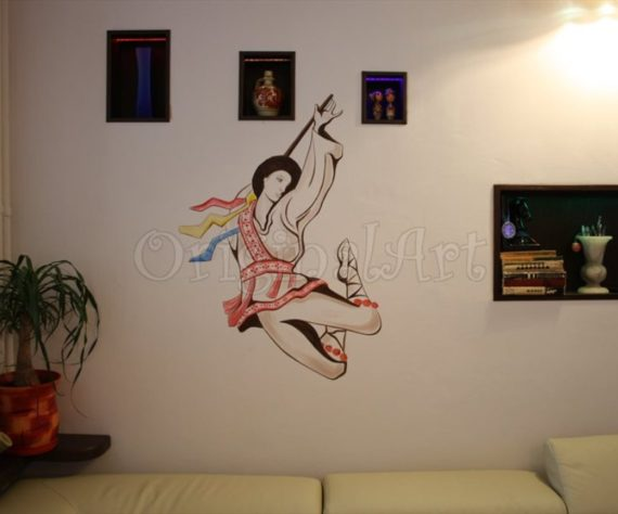 pictura traditional populara calusar2
